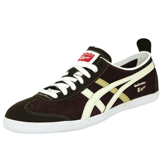 6024ef7cf475 Asics - Onitsuka Tiger Mexico 66 Vulc Suede Chaussures Mode Sneakers Homme  Cuir Suede Violet Brun Beige - pas cher Achat / Vente Baskets homme - ...