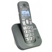 TELEFUNKEN - téléphone sans fil eco dect silver - ttb00601silver