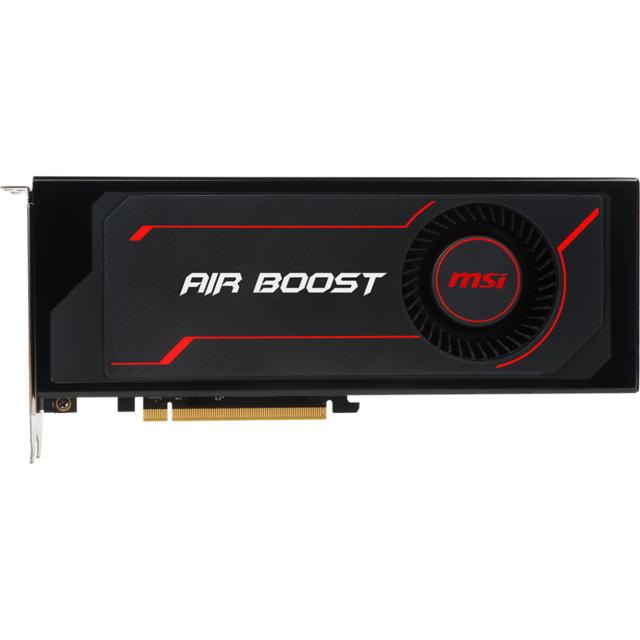 MSI Radeon RX Vega 56 Air Boost 8G OC Les cartes graphiques Radeon™ RX Vega sont pensées pour répondre aux joueurs les plus exigeants, souhaitant jouer avec les résolutions, les réglages et le taux d'images par minute les plus élevés possible, et voulant