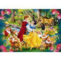 Clementoni - Puzzle 24 pièces maxi : Princesses Disney : Blanche Neige