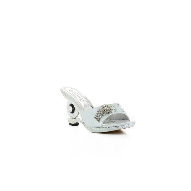 2bdb984198462 Aida Malikian - Mule talon décoré Aida blanc 38 - Blanc - pas cher Achat   Vente  Mules femme - RueDuCommerce