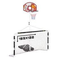 Cdts - Ensemble Multi-Jeux Panneau de Basket + But de Foot