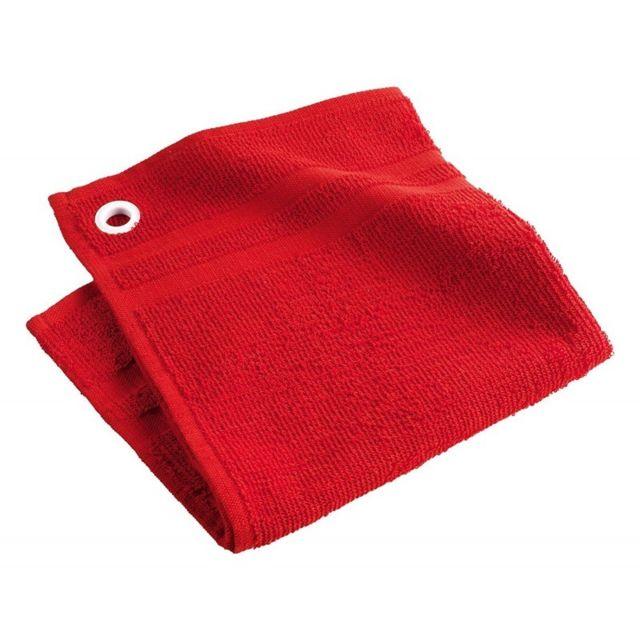 paris prix essuie main eponge chef etoil 50cm rouge pas cher achat vente essuie mains. Black Bedroom Furniture Sets. Home Design Ideas