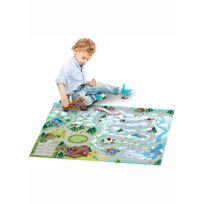 House Of Kids - Tapis enfant jeu circuit Connecte Montagne Tapis Enfants par