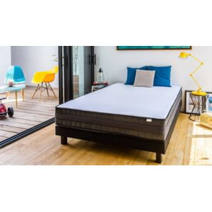 hbedding matelas m moire de forme 90x190 memo confort mousse ergonomique haute densit 90cm. Black Bedroom Furniture Sets. Home Design Ideas
