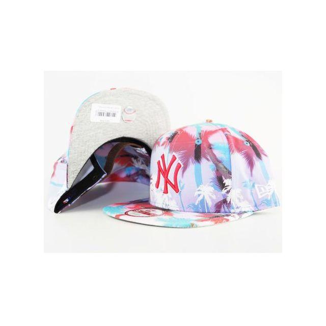 52138c21c6e7 New Era Cap - Casquette New Era Ny Yankees Miami Vibe Strapback Palmiers
