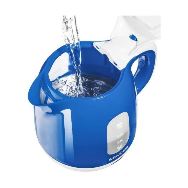 Sencor Swk 1012BL Bouilloire électrique - Bleu et blanc