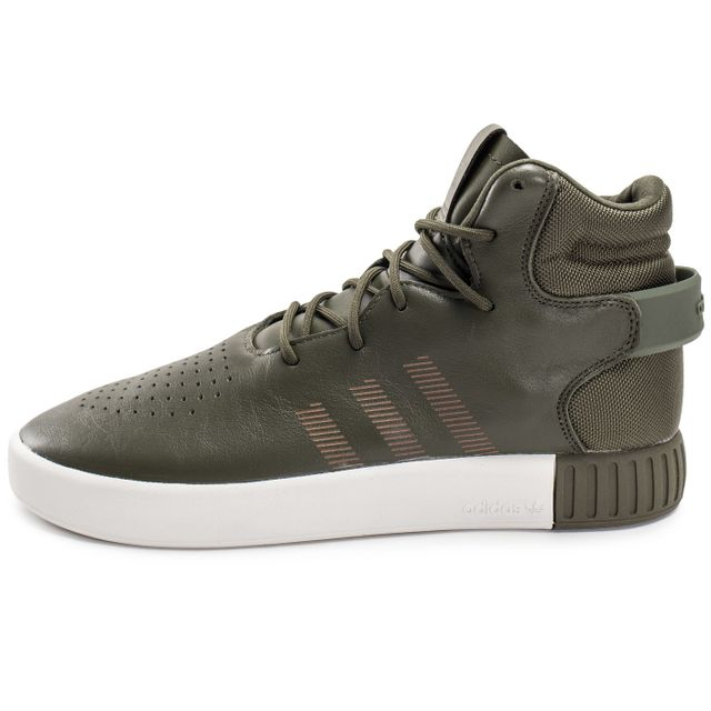 Adidas originals - Tubular Invader Kaki - pas cher Achat   Vente ... 7fb7691c7ca7