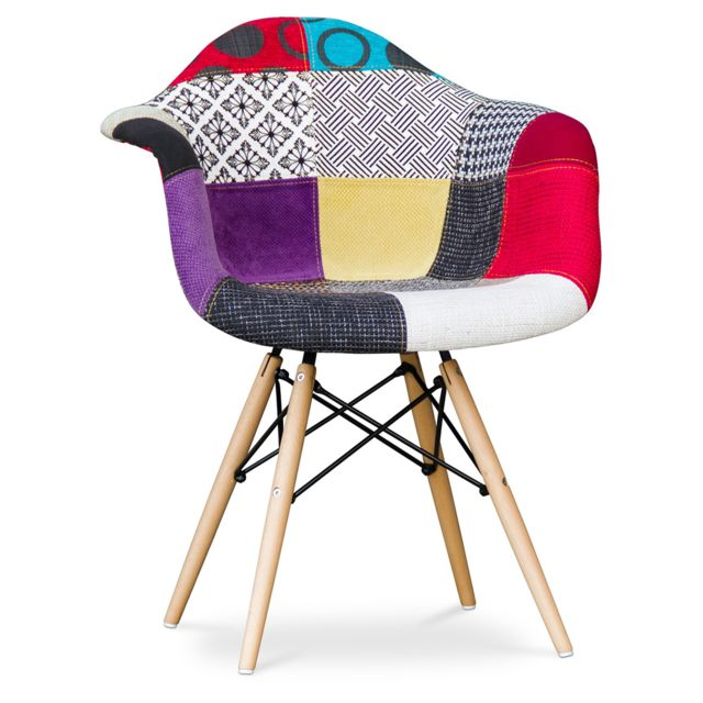 Chaise Dawick Patchwork Ray