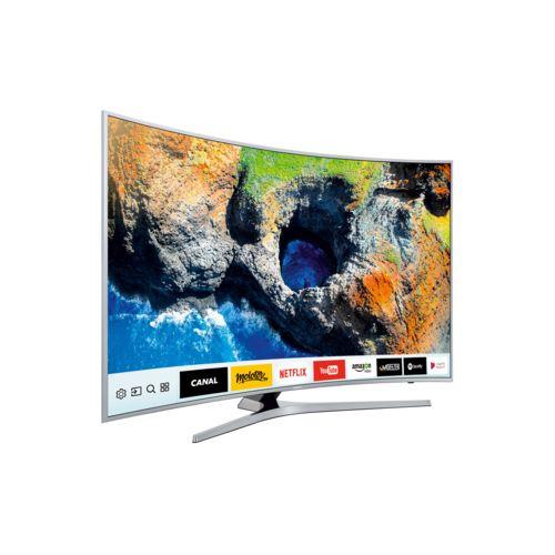 samsung tv led 49 123cm ue49mu6505 pas cher achat vente tv led de 40 39 39 49 39 39 rueducommerce. Black Bedroom Furniture Sets. Home Design Ideas