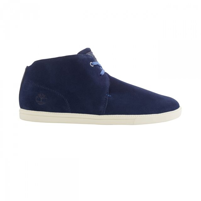 Timberland - Chaussures Ek Fulk Mid Navy Suede - pas cher Achat ... 62118881fedd