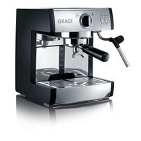 GRAEF - cafetière espresso automatique multi-capsules 16bars noir - es702