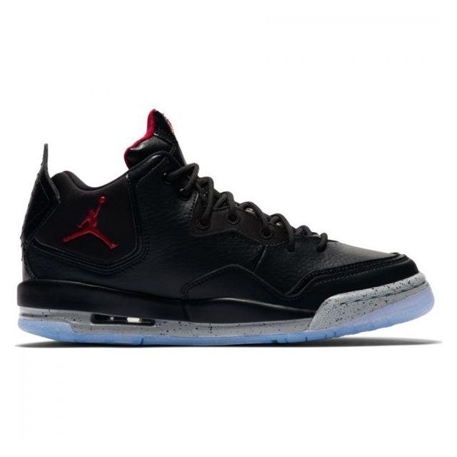 Courtside Junior De Noir Infrared 23 Pour Chaussure Basket Jordan d6H6q
