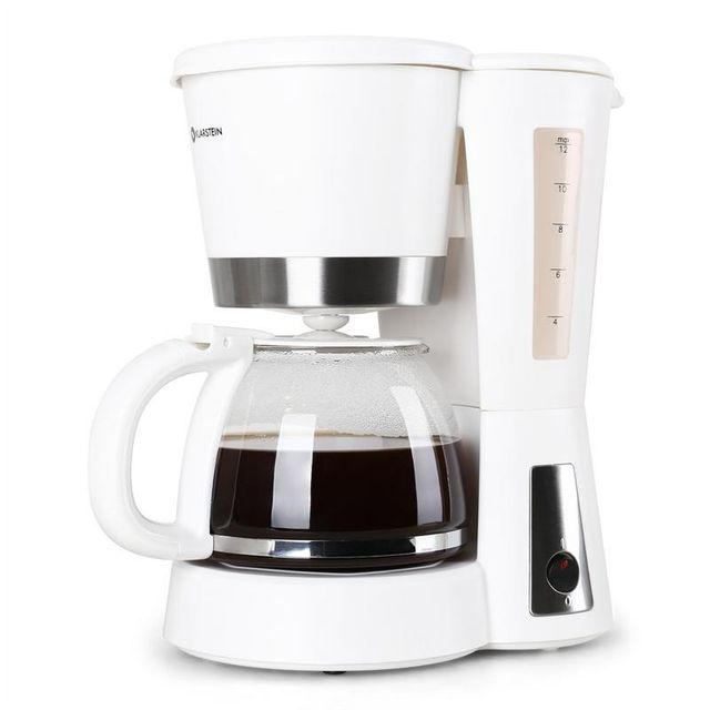 KLARSTEIN Sunday Morning Machine à café 900W 1,2L - blanche