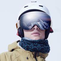 Spherique Masque Avec Buée Réglable Ski Lunettes Gris Uv Sangle Dérapant Adulte Couches De Anti Double Protection LSVGjUMpzq