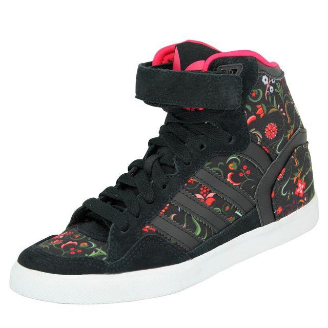 adidas Extaball Up W, Baskets mode pour femme multicolore