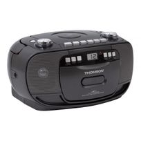 Thomson - Radio cassette Cd portable Rk200CD - secteur ou piles - noir