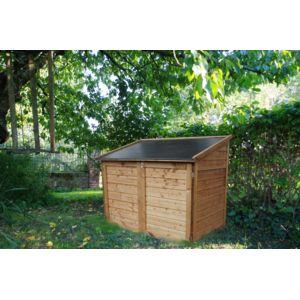 chalet jardin coffre bois trocadero pas cher achat vente coffre de jardin rueducommerce. Black Bedroom Furniture Sets. Home Design Ideas