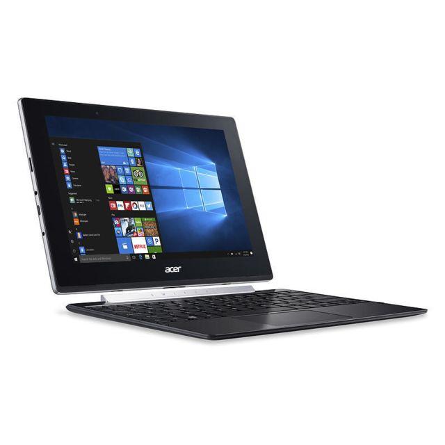"""ACER - Netbook tactile - Intel Atom Z8350 1.44GHz - RAM 2Go DDR3L - 32Go eMMC - HDD 500Go - Webcam - Pas de lecteur optique - Intel HD Graphics - 10,1"""" WXGA tactile - Windows 10 Famille"""