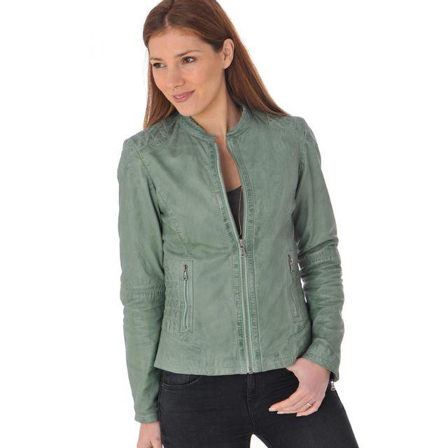 Oakwood - Blouson Tonic vert pale 584 XXL - pas cher Achat   Vente Blouson  femme - RueDuCommerce 744debb600b1