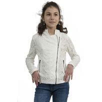 Molly Bracken - Blousons ete girls woven jacket blanc