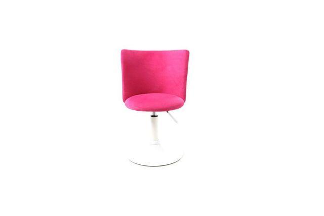 chaise bureau rose - achat chaise bureau rose pas cher - rue du ... - Chaise De Bureau Sans Roulette