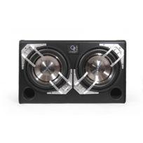 Oxygen - Spiral Box 12,2A - Caisson de grave Amplifié 180W max - 2 Hp de grave 300mm - Puissance 180 watts