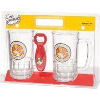 United Labels - Simpsons Ensemble de 2 verres a biere