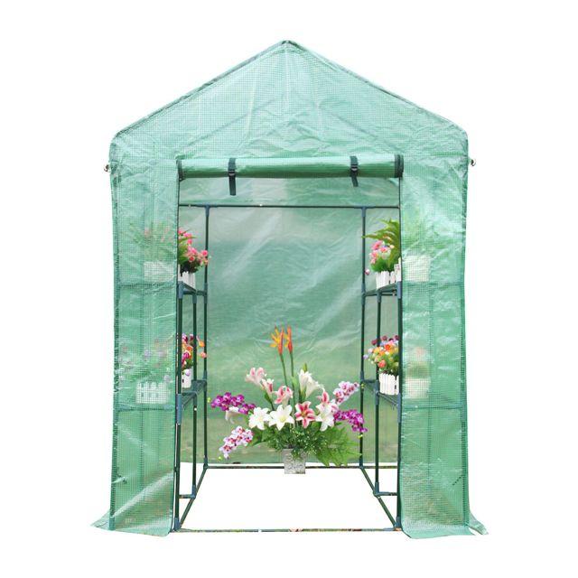 cemonjardin serre de jardin en poly thyl ne 2 m pas. Black Bedroom Furniture Sets. Home Design Ideas
