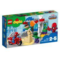 Lego - 10876 DUPLO® : Marvel Super Heroes Adventures : Les aventures de Spider-Man et Hulk
