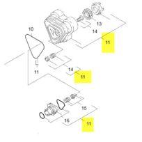 Karcher - Jeu De Pieces Reparation Culasse reference : 90012150