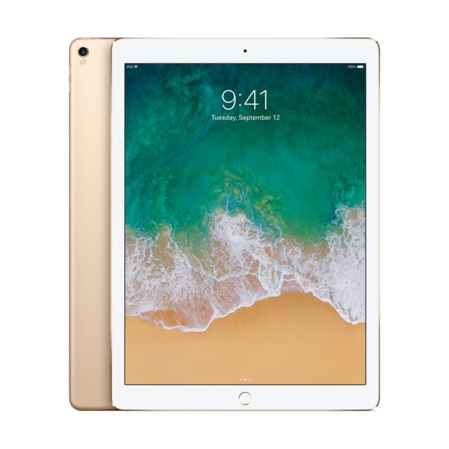 APPLE - Tablette 12,9'' Retina - Puce A10X - WiFi - 256 Go - iOS 11 - Or