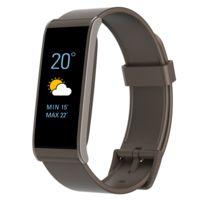 MYKRONOZ - Bracelet connecté fitness- Podomètre - Notification Appel / SMS / Email - IP67 - Autonomie 5 jours - Compatible IOS / Android