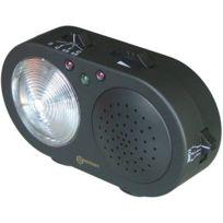 Geemarc - Clearsound Cl2PLUS Indicateur d'appel téléphonique avec bouton de sonnette sans fil Noir