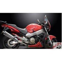 Honda - 1100 Cb X11-99/02- Paire Silencieux Echappement Ovale Inox 450 mm-DELK