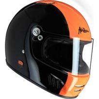 Airborn - Casque Full Ride Noir / Orange
