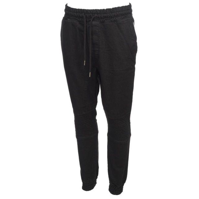 Hite couture Kolser Hite Noir Pantalon Couture cargo pant black tqPUrtWHw