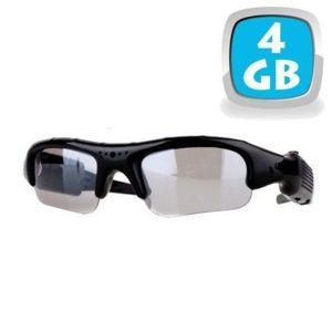 Yonis - Lunettes camera espion mini appareil photo caché Usb Micro Sd 4 Go