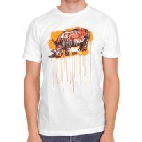 Ecko - T-shirt Unltd The Exhibit Save Cope Bleach White