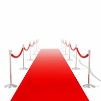 Rocambolesk - Superbe Tapis rouge 1 x 5 m Neuf
