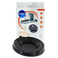 Home Equipement - Filtre charbon rond Ø235 x 29 mm pour Hotte