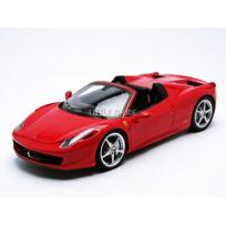 Hotwheels - Elite MATTEL Ferrari 458 Italia Spider - 1/18 - W1177