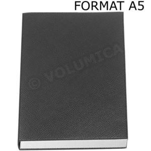 volumica carnet de note rechargeable a5 cuir noir. Black Bedroom Furniture Sets. Home Design Ideas