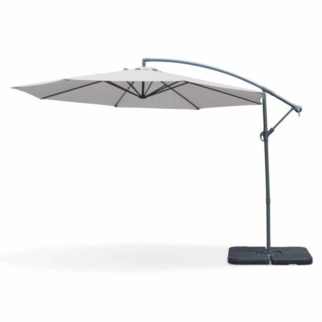 alice 39 s garden parasol d port 350cm hardelot. Black Bedroom Furniture Sets. Home Design Ideas