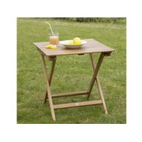 Table jardin acacia - catalogue 2019 - [RueDuCommerce - Carrefour]