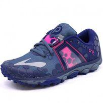Brooks - Chaussures Puregrit 4 Bleu Running Femme