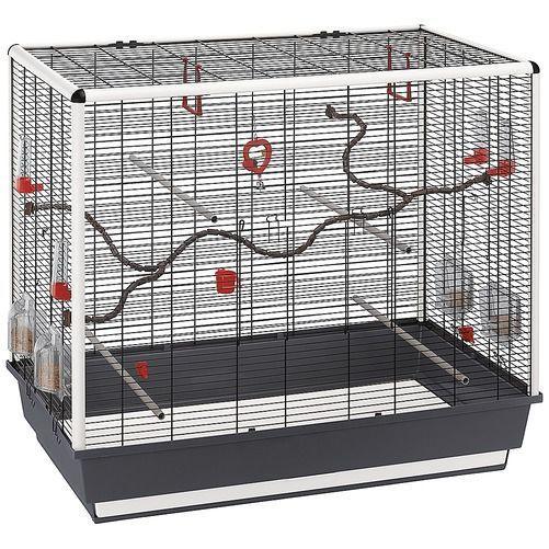 ferplast cage oiseaux piano 7 pas cher achat vente. Black Bedroom Furniture Sets. Home Design Ideas