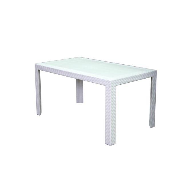 80 Rectangulaire X 72 Lekingstore Table Coloris 140 Urano Blanc TPwXOkuilZ