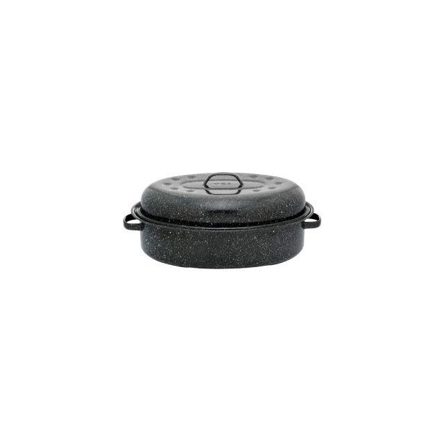Warmcook Roaster Cocotte Ovale Couvert Grand Modèle Poids 1 Kg