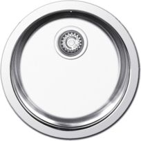 Nayes - Evier Inox 1 Cuve Ronde Round 1C 31415, Lisse